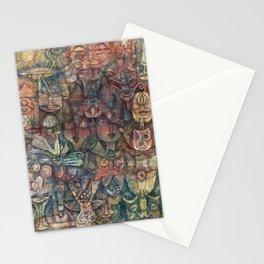 Strange Garden by Paul Klee, 1923 Stationery Cards
