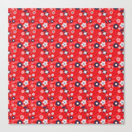 Rojo Canvas Print