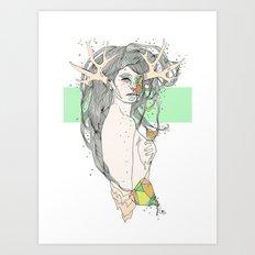 colour blind VI Art Print