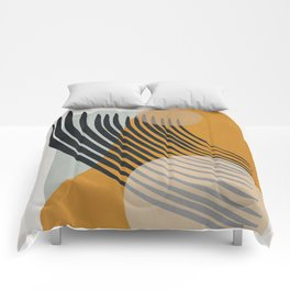 Abstract Shapes 33 Comforters