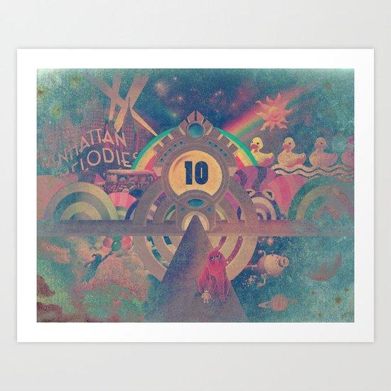 Pinball Redux Art Print