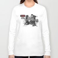 ewok Long Sleeve T-shirts featuring Ewok Village by foreverwars