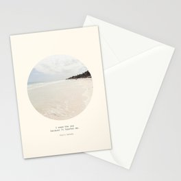 Need the sea  Stationery Cards