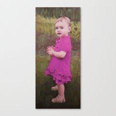 Little Eve (violet) Canvas Print