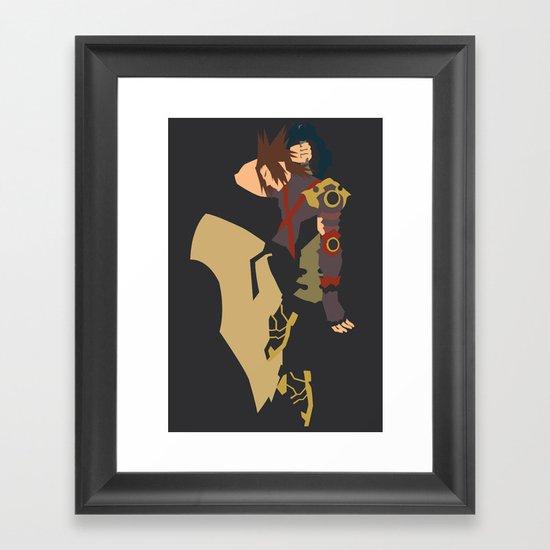 Kingdom Hearts - Terra Framed Art Print