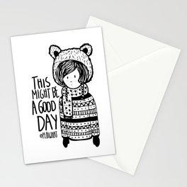 Teddy Bear Boy  Stationery Cards