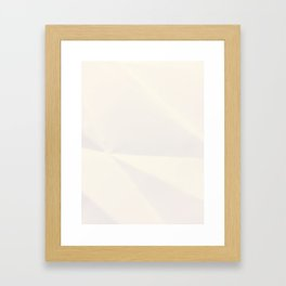 When the Wind, Shifting Quickly Framed Art Print