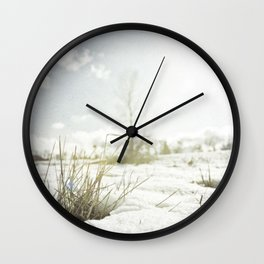 { GRASSY PERSPECTIVE } Wall Clock