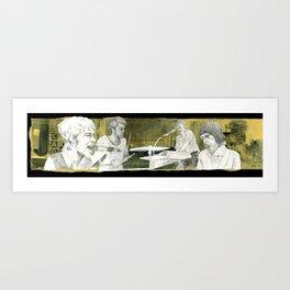 Cold War Kids Art Print