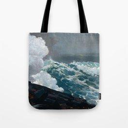 Northeaster - Winslow Homer Tote Bag