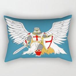 Knights Templar Angel  Rectangular Pillow