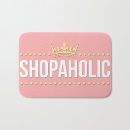 Shopaholic Bath Mat