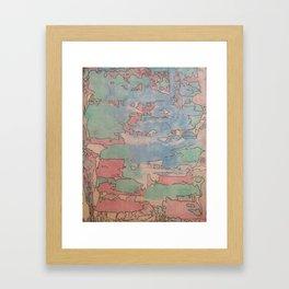 Colourfull world Framed Art Print