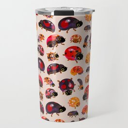 Lady beetles Travel Mug