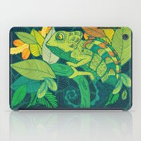 chameleon iPad Cases featuring Chameleon by Arcturus