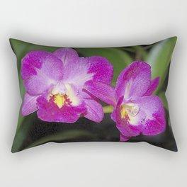 Magnificent Magenta Orchid - Ctna Capri Rectangular Pillow