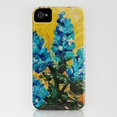 SHADES OF BLOOM - Stunning Floral Abstract Modern Home Decor Hyacinths Bright Bold Color Garden 2012 iPhone (4, 4s) Slim Case