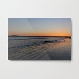 Coronado Island California Beach at dusk Metal Print