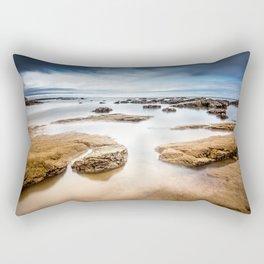 watching the tide Rectangular Pillow