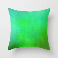 Shamrock Field 01 Throw Pillow