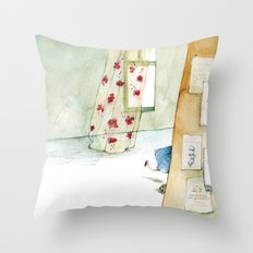 Runway Princess  Throw Pillow