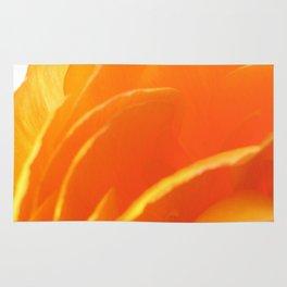 Orange Petals Rug