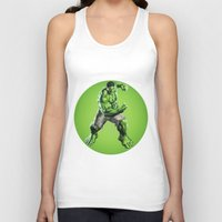 hulk Tank Tops featuring HULK by Hands in the Sky