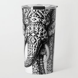 Tribal Elephant Travel Mug