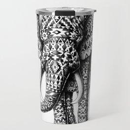 Tribal Elephant Travel Mug