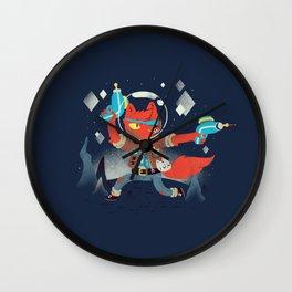 Bounty Hunter Space Cat Killa Wall Clock