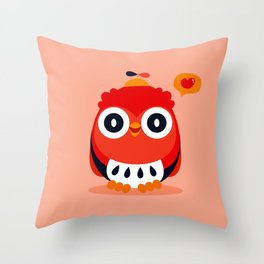 Owlet Throw Pillow