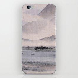 Utagawa Hiroshige - Fuji Marsh, Suruga province iPhone Skin