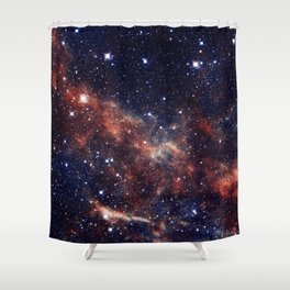 Sweeping Nebula Shower Curtain