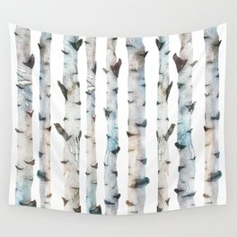 Birch Tree forest Wall Tapestry