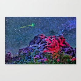 Over Camelback Mountain Canvas Print