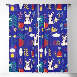 Tortoise and the Hare is one of Aesop Fables blue Blackout Curtain