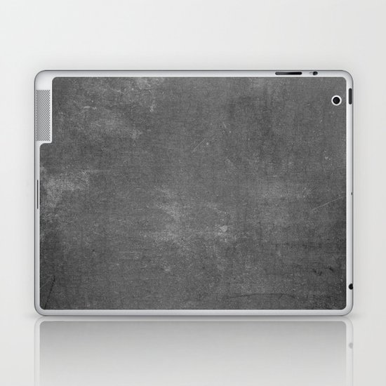 Gray and White School Chalk Board Laptop & iPad Skin by ...