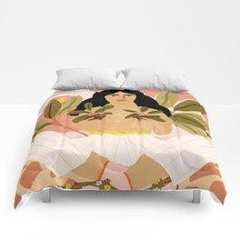 Crazy Plant Lady Comforters