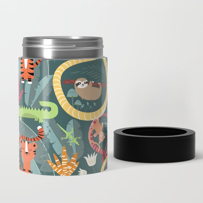 Rain forest animals 003 Can Cooler