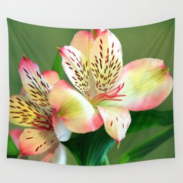 Beautiful Lillies Wall Tapestry