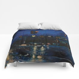 Rainy Night Comforters