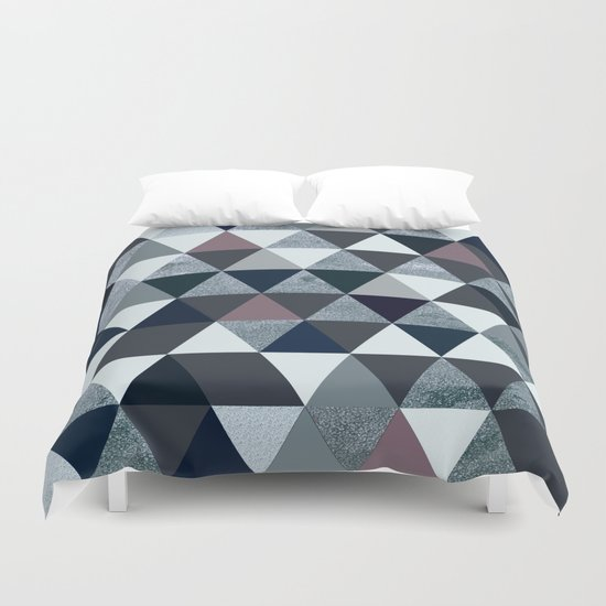 Abstract #386 Duvet Cover