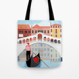 Venice Art Print Tote Bag