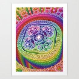 Dynamo Art Print