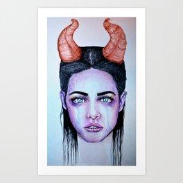 Lovely Beasty Art Print