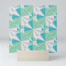 Light colored circles Mini Art Print