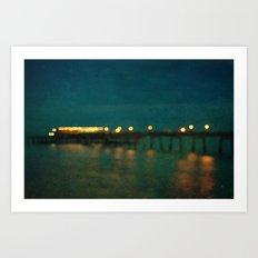 Deal After Sunset Art Print