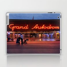 Night shot at Prater amusement park, Vienna Laptop & iPad Skin