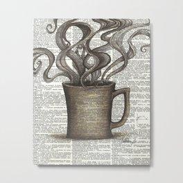 Cupfull of Happy Metal Print