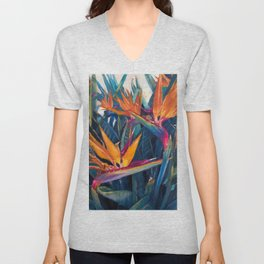 Bird of Paradise Unisex V-Neck